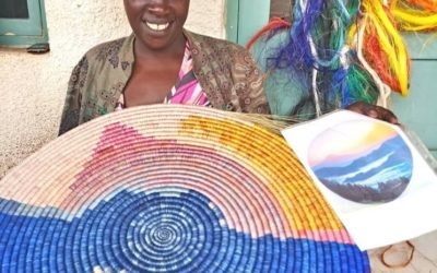 The Basket Made in Rwanda: a masterpiece of craftsmanship!